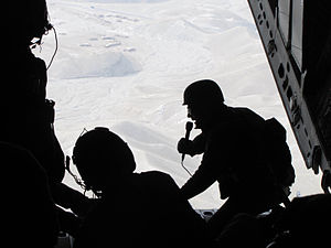 Lester Holt - Holt in 2010 photographed by the United States Air Force while reporting on an airdrop mission in Afghanistan