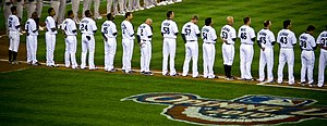 2010 Seattle Mariners season - The 2010 Seattle Mariners on Opening Day.