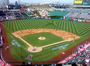 All-Star Futures Game - The 2010 XM All-Star Futures Game at Angel Stadium of Anaheim.