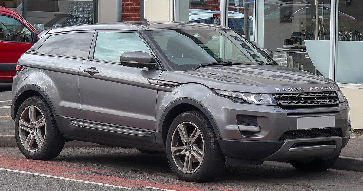 Range Rover Evoque — Вікіпедія