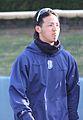 20120401, Yuuki Watanabe, infielder of the Yokohama DeNA BayStars, at Yokosuka Stadium.JPG