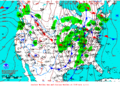 2013-01-30 Surface Weather Map NOAA.png