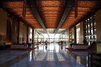 M Resort - The main lobby