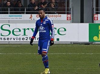Alexandre Lacazette - Lacazette with Lyon in 2013