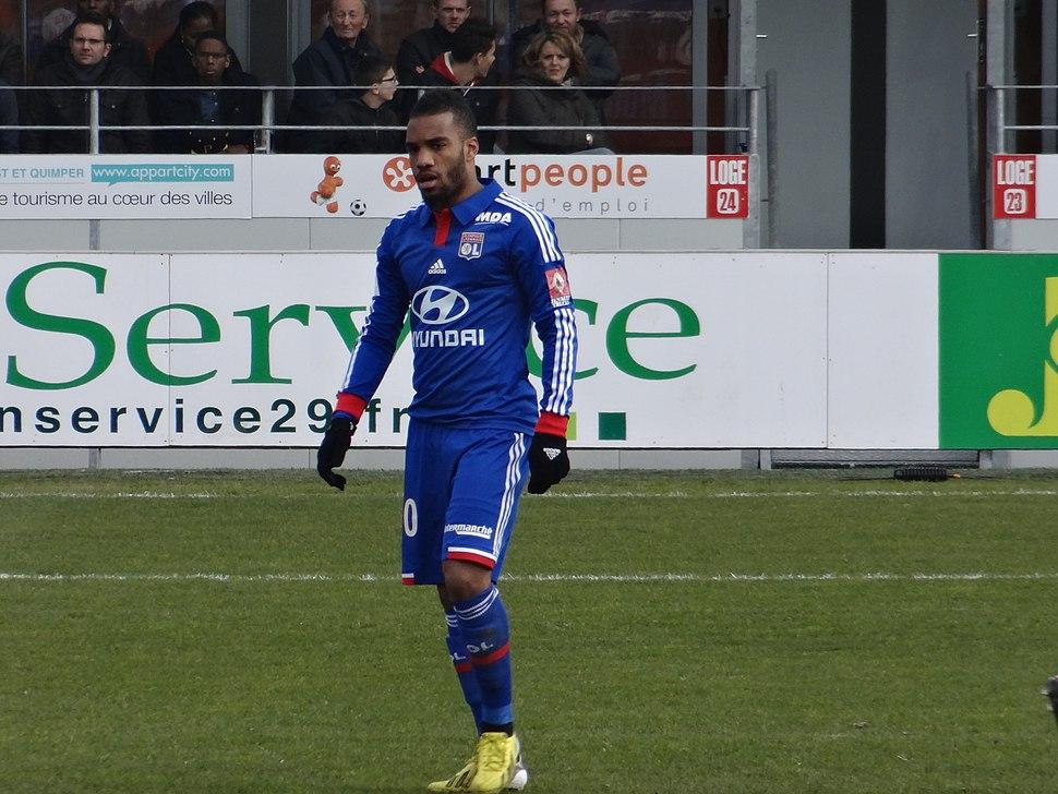 2013-03-03 Match Brest-OL - Lacazette (2)