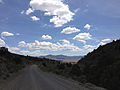 2014-07-30 12 20 08 View east from Manhattan Road in the Toquima Mountains east of Manhattan, Nevada.JPG