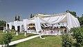 2014 Prowincja Armawir, Zwartnoc, Namiot weselny (02).jpg