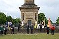 2015-06-20 200 Jahre Schlacht bei Waterloo, Welfenbund, The Royal British Legion, Hannover, Waterloosäule, (34).JPG