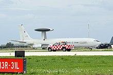 AWACS della NATO a Trapani