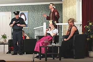 Rumors (play) - Whether he believes the story?