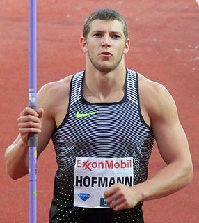 Andreas Hofmann (javelin thrower) German javelin thrower