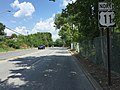 2016-07-29 14 45 05 View north along U.S. Route 11 (Burhans Boulevard) between Madison Avenue and Antietam Street in Hagerstown, Washington County, Maryland.jpg
