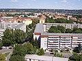 2017-08-07 Dresden Gruna Striesen Blasewitz Loschwitz - Blick von HH Rosenbergstraße 12 Etage 16 stereo rechts.jpg