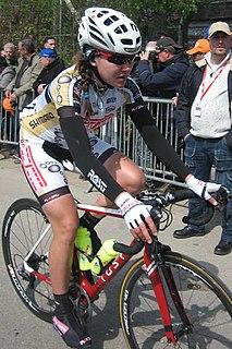 Kseniya Dobrynina Russian cyclist