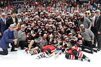 2017 Calder Cup playoffs - The champion Grand Rapids Griffins