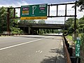 2018-07-21 13 35 43 View south along New Jersey State Route 444 (Garden State Parkway) north of Exit 166 in Washington Township, Bergen County, New Jersey.jpg