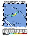 2018-10-11 Kimbe, Papua New Guinea M7 earthquake shakemap.jpg