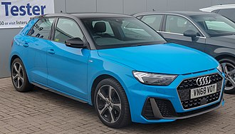 Audi A1 - 2018 Audi A1 S Line 1.0 finished in Turbo Blue