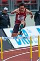 2018 DM Leichtathletik - 400-Meter-Huerden Maenner - Robert Wolters - by 2eight - DSC7195.jpg