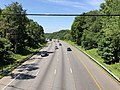 2019-07-15 10 52 57 View south along the northbound lanes of Interstate 95 from the overpass for Vollmerhausen Road on the edge of Columbia and Savage in Howard County, Maryland.jpg