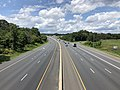 2019-07-18 13 38 23 View northwest along Interstate 695 (Baltimore Beltway) from the overpass for Interstate 95 in Arbutus, Baltimore County, Maryland.jpg