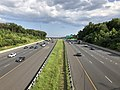 2019-07-24 17 35 21 View east along Interstate 695 (Baltimore Beltway) from the overpass for Lillian Holt Drive on the edge of Rosedale and Rossville in Baltimore County, Maryland.jpg