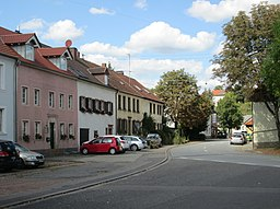 Hauptstraße in Saarbrücken