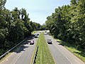 2020-08-26 12 55 02 View east along Maryland State Route 193 (Enterprise Road) from the overpass for Interstate 595 and U.S. Route 50 (John Hanson Highway) on the edge of Mitchellville and Woodmore in Prince George's County, Maryland.jpg