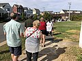 2020-10-20 14 34 02 Line for early voting along Center Street in Herndon, Fairfax County, Virginia.jpg