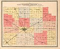 20th century atlas of Clinton County, Indiana - containing maps of villages, cities and townships of the county, of the state, United States and world, farmers directory, business directory and LOC 2007626767-5.jpg
