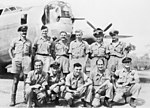 21 Squadron RAAF Liberator aircrew Fenton NT Mar 1945 AWM NWA0728.jpg