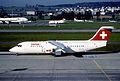 221aq - Swiss Avro RJ 100, HB-IXQ@ZRH,14.04.2003 - Flickr - Aero Icarus.jpg