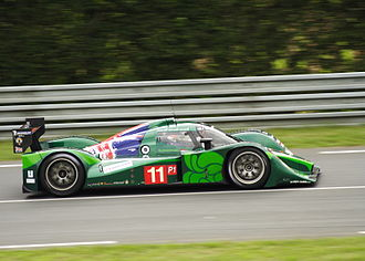 Paul Drayson, Baron Drayson - Drayson driving the Lola B09/60 at the 2010 24 Hours of Le Mans