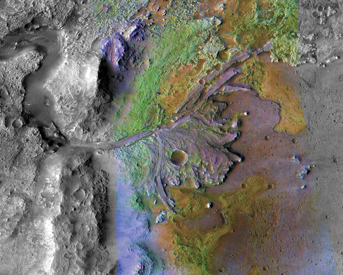 Webmains Jezero (crater) the landing site of Mars 2020 rover  %site_name, %title