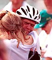 271000 - Cycling road Daniel Polson mum emotional - 3b - 2000 Sydney race photo.jpg