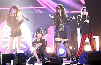 2NE1 - 2NE1 performing at Samsung Passion Talk, September 2013