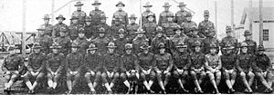 """2d Air Refueling Squadron - 2d Aero Squadron (Later Squadron """"A""""), Kelly Field Texas, 1918"""