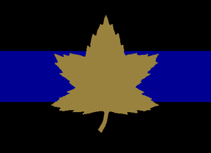 2nd Canadian Armoured Brigade - The formation sign used to identify the tanks and other vehicles of the 2nd Canadian Armoured Brigade.