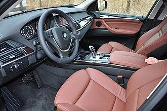 BMW X5 (E70) - Interior