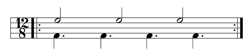 3-4 cross rhythm