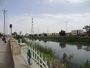Al Diwaniyah - Image: 4 شط الديوانيه