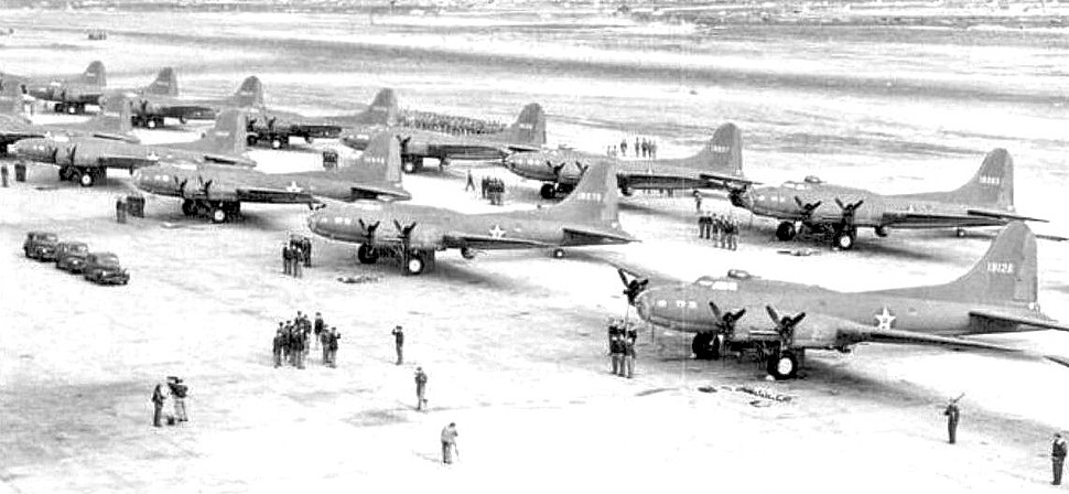411th Bombardment Squadron B-17Es 1943