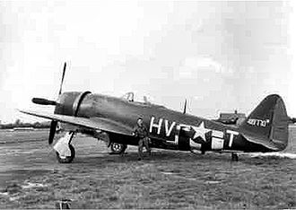 61st Fighter Squadron - P-47 of the 61st Fighter Squadron