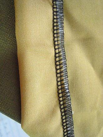 Hem - Image: 5 thread overlock hem