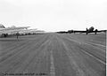 61st Troop Carrier Group - C047s on Taxiway at RAF Barkston Heath.jpg