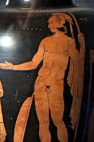 File 6629 museo archeologico di lecce achille vaso for Vaso attico