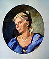"6 ""Portrait de Kathy"", huile sur toile de Boris Khomenko, 2002, 75x55.jpg"