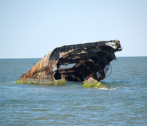 SS Atlantus - Image: 7.23.15Atlantus By Luigi Novi 11