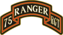 75th Ranger Regiment Combat Service Identification Badge (CSIB)