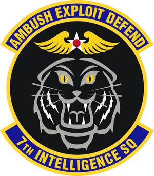 7th Intelligence Squadron - Image: 7 Intelligence Sq emblem